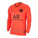 Maglia Paris Saint-Germain Away Manica Lunga 2019 2020